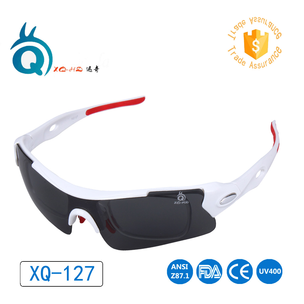 Lowest price with good quality Sport Polarized Fishing Sun Glasses For Men Happy Freedom Sunglases with PC Yellow lens