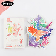 Popular origami greeting card buy cheap origami greeting card lots 30 pcs beautiful origami cranes heteromorphism postcard valentines day new year greeting card birthday gift message lomo cards m4hsunfo