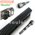 Noulei 1400mm 670mm Helical Gear Rack 1.25 Mod CNC and 1.25MOD Metal Steel Pinion Gear Set For CNC Machine