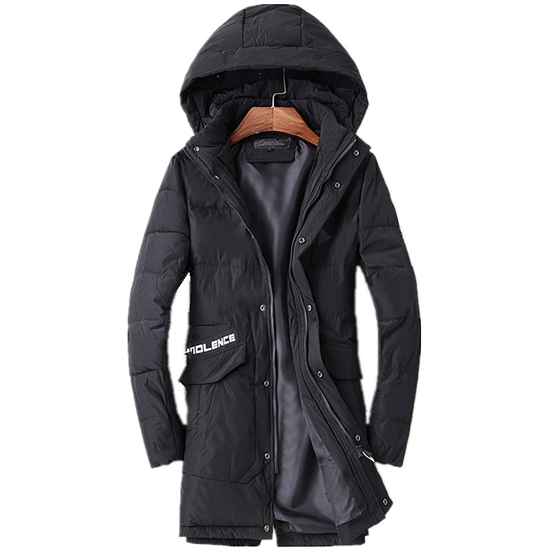 ФОТО 2016 winter men's Hooded Leisure fashion thicking Cotton quilted jacket Men's trench coat Winter jackets Parkas big size M-3XL