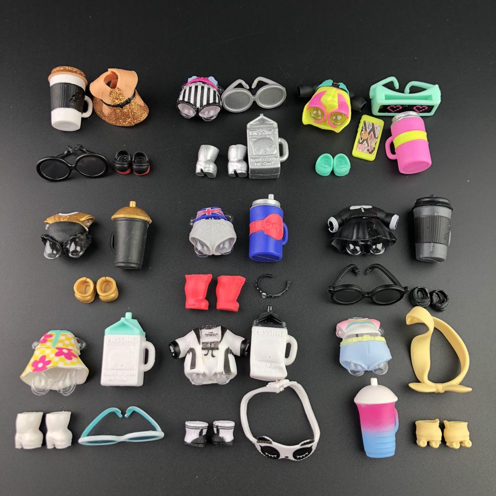 1 Set Original Doll Clothes For Lol Doll  Accessorries On Sale Dolls Collection Hot Sale
