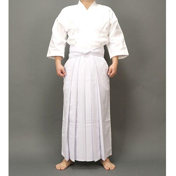 Men Women White high quality Kendo uniforms Regular style hakama suits hapkido martial arts clothing sets high quality kendoist white kendo laido aikido hapkido hakama martial arts uniforms japanese dobok sz xxs 6xl