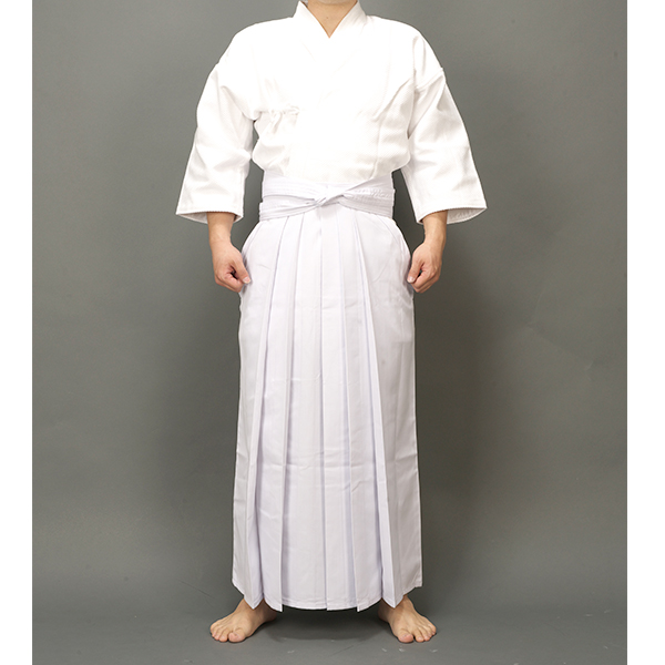 UNISEX white high quality Kendo uniforms hakama suits hapkido martial arts clothing sets high quality kendoist white kendo laido aikido hapkido hakama martial arts uniforms japanese dobok sz xxs 6xl
