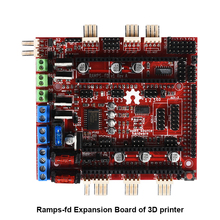 On sale 3D Printer part MotherBoard Reprap RAMPS-FD Shield Ramps 1.4 Control Board Compatible for Arduino Due Main Control Board