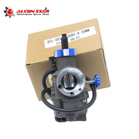 Alconstar Gray color Racing Carburetor KEIHIN PE28 PE30 28mm 30mm Fit Motorbike Scooter Dirt Bike ATV off road Motor