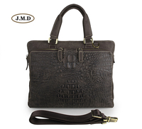 J. м. d Пояса из натуральной кожи крокодила узор Бизнес сумки Для мужчин модные Мужские Портфели ноутбук сумка 7294r