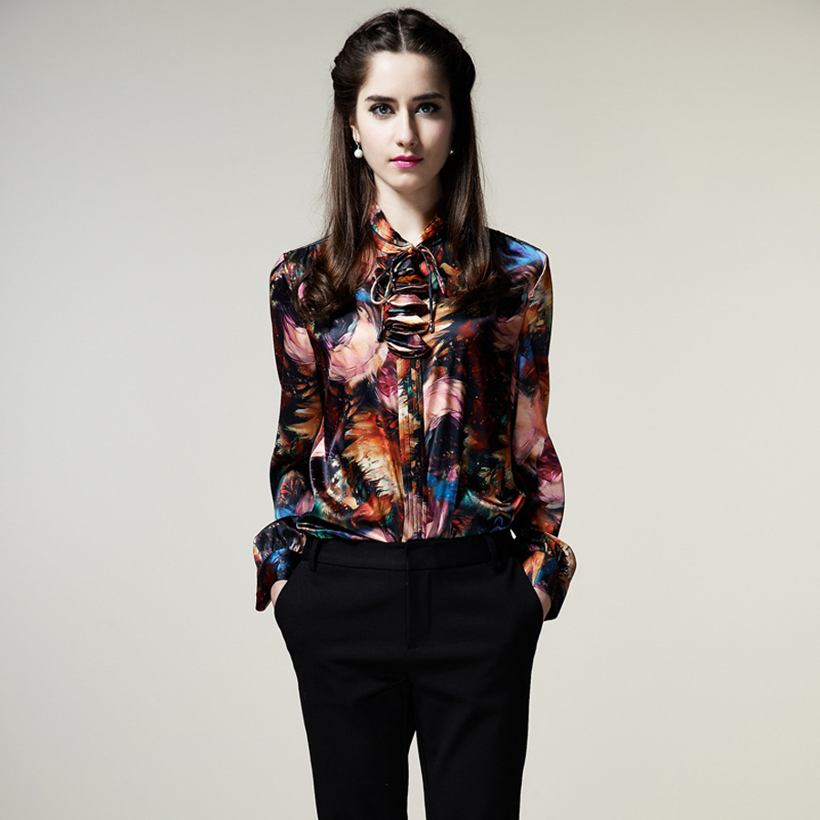 Compare Prices on Silk Ladies Tops- Online Shopping/Buy Low Price ...