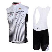 Men verão ciclismo sem mangas camisa bib shorts definir respirável mtb bicicleta roupas de corrida roupas ropa ciclismo y4802