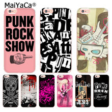 MaiYaCa xjh1748 Punk Rock transparante soft tpu phone case cover voor iPhone X 6 6 s 7 7 plus 8 8 Plus 5 5 S 5C case(China)