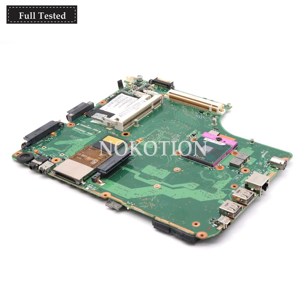 NOKOTION V000125160 6050A2171301-MB-A02 For Toshiba Satellite A300 A305 Laptop motherboard 965PM DDR2 with graphics slot IDE DVDNOKOTION V000125160 6050A2171301-MB-A02 For Toshiba Satellite A300 A305 Laptop motherboard 965PM DDR2 with graphics slot IDE DVD