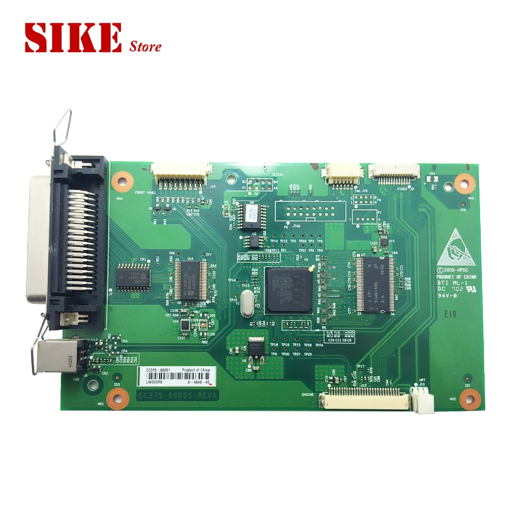 CC375-60001 Logic Main Board Use For HP LaserJet P2014 2014 HP2014 Formatter Board Mainboard new oem formatter board 220v for hp laserjet pro m126a m126 m125a m125 126 125 cz172 60001 high quality mainboard copier parts