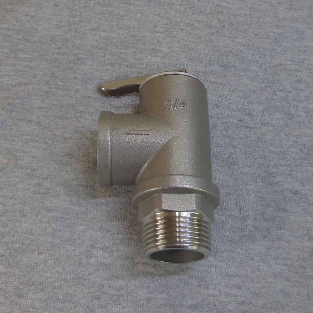 Stainless Steel 304 1/2/3/4/5/6/7/8/9/10Bar Opening Pressure Safety Valve SYA-15 1/2 0.1/0.2/0.3/0.4/0.5/0.6/0.7/0.8/0.9/1.0Mpa 10bar opening pressure safety valve ya 20 3 4 ake 1mpa ultifittings com