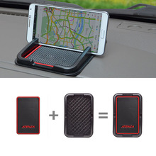 1set Car Styling For Mazda Speed Atenza CX 5 Mobile Phone GPS Holder Anti Slip Mat Pad 3color Automobile Interior Accessories
