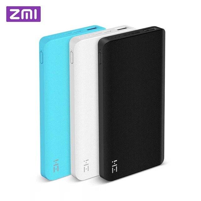 Xiaomi ZMI Power Bank 10000 mah Powerbank Externe Batterij draagbare opladen Quick Charge 2.0 Twee-weg Snelle Charge Pack voor iPhone