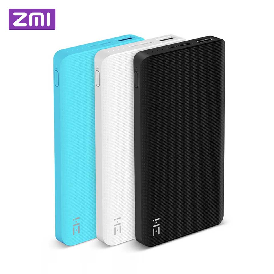 Xiaomi ZMI Power Bank 10000mAh Powerbank External Battery portable charging Quick Charge 2.0 Two-Way Fast Charge Pack for iPhoneXiaomi ZMI Power Bank 10000mAh Powerbank External Battery portable charging Quick Charge 2.0 Two-Way Fast Charge Pack for iPhone
