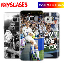 Cristiano Ronaldo Creative Cr7 Phone Case Shell Cover Bag For Samsung Galaxy S4 S5 S6 S7 Edge S8 Plus Note 2 3 4 5 C5 C7 A8 A9