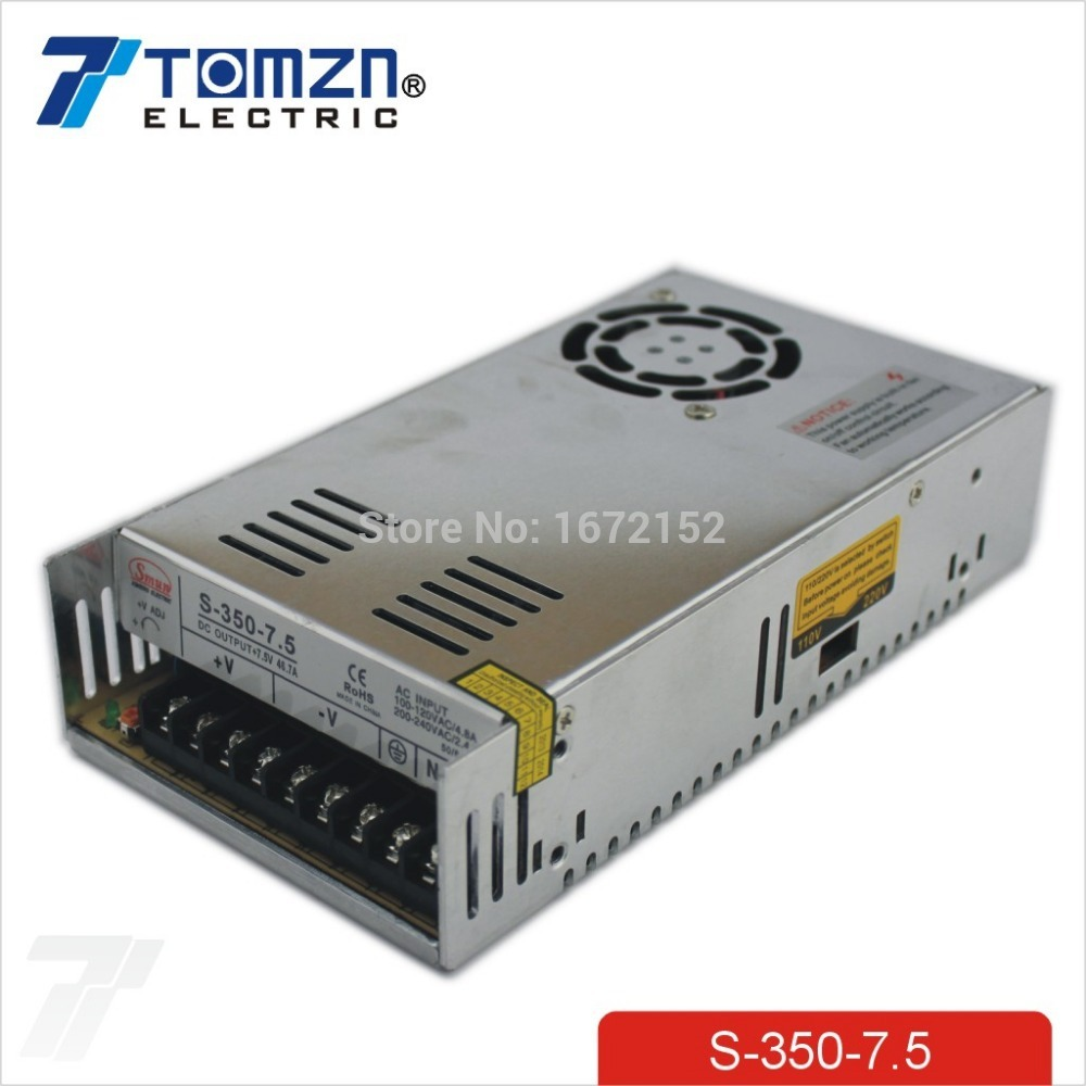 350W 7.5V 40A Single Output Switching power supply for LED Strip light AC to DC 350w 60v 5 8a single output switching power supply ac to dc for cnc led strip