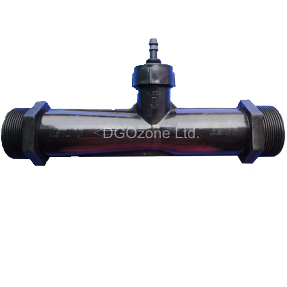 "PVDF 2 ""ベンチュリインジェクタミキサー雄ねじベンチュリー管自動吸入肥料水ミキサー DGOzone  グループ上の ホーム&ガーデン からの CO2 機器 の中 1"