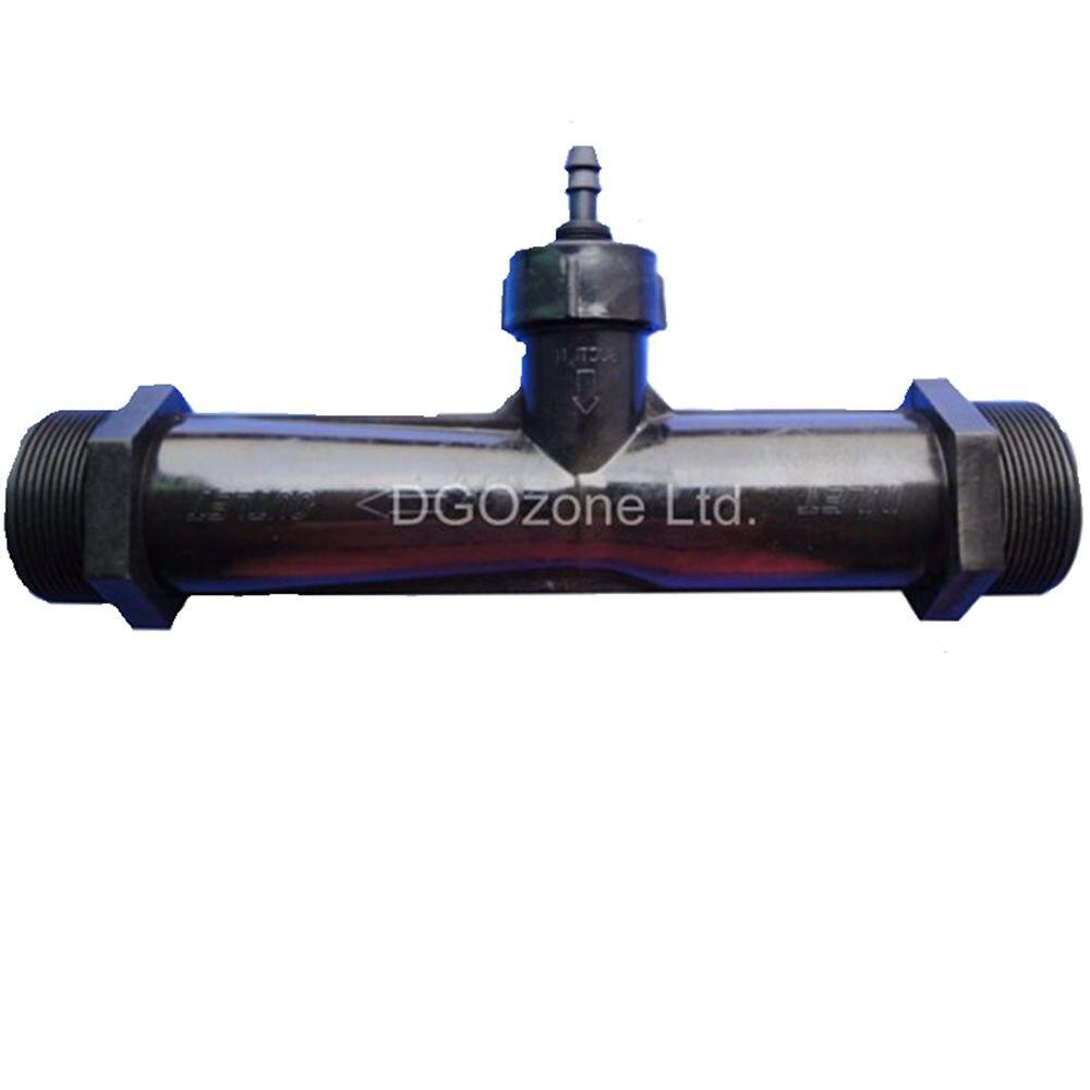 """Ev ve Bahçe'ten CO2 Ekipmanı'de PVDF 2 """"venturi enjektör karıştırıcı Dış Dişli Venturi Tüp Otomatik Inhalasyon Gübre su mikser DGOzone'da  Grup 1"""