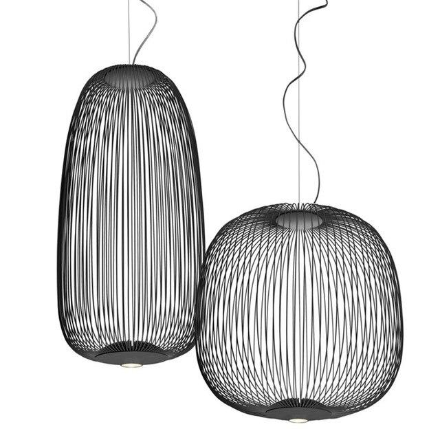 US $295.18 20% di SCONTO Foscarini Raggi 1/2 Moderna Lampade a sospensione  Lampadario In Metallo Ha Condotto La Lampada A Sospensione Per Le Lampade  ...