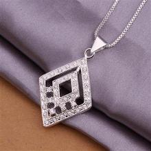 YERLLSOM High Quality retail cheap Woman Silver Copper Jewelry Necklace N361