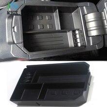Аксессуары для Toyota RAV4 RAV 4 2009-2015 2016 2017 аксессуары подкладке спереди Центральная коробка для хранения Организатор 1 шт