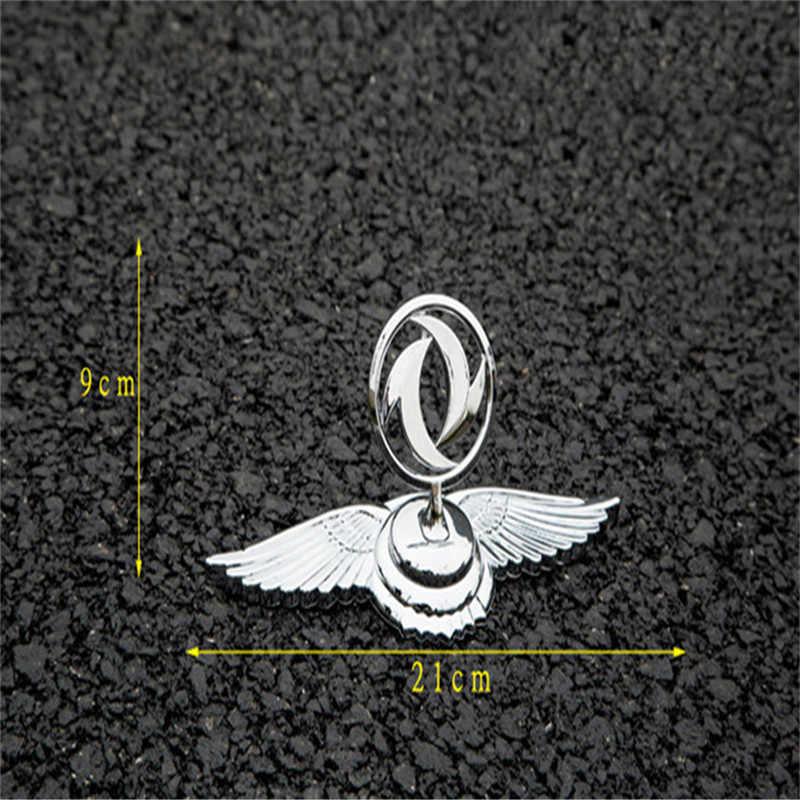 Accessori per Auto in Lega di Zinco Auto Anteriore Emblem Hood Badge Sticker per Dongfeng Trattore AX7 580 S30 H30 Croce AX4 Auto sticker