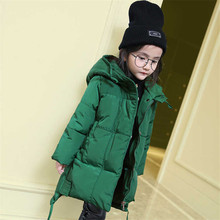 Baby Down Infant Girl Winter Clothes 2018 Kids Coats for Girl Thick Cotton Girls Parkas Snowsuit Warm Children Clothing 3dp053