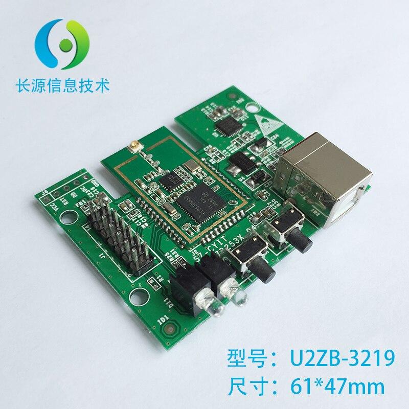 CC2538 Carte de Test, ZigBee Carte de Test, USB à CC2538PA Carte de Test.
