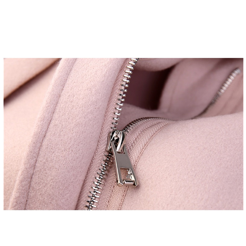 Long Automne De Pardessus Taille Hiver Vestes Ms Haute Mode Grande Manteau camel Pink Femmes Qualité Coréenne 2019 Moyen Laine 5qBnp6xSq