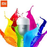 100 Original Xiaomi Yeelight APP WIFI Remote Control Smart LED Light RGB Colorful Temperature Romantic Intelligent