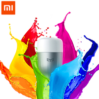 100 Original Xiaomi Yeelight APP WIFI Remote Control Smart LED Light RGB Colorful Temperature Romantic Intelligent