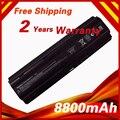 8800 mah bateria do portátil para hp mu06 mu09 wd548aa para compaq presario CQ32 CQ42 CQ43 CQ56 CQ62 para Pavilion DM4 DV3 DV5 DV6 DV7