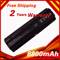 8800mAh Laptop Battery for HP MU06 MU09 WD548AA for Compaq Presario CQ32 CQ42 CQ43 CQ56 CQ62 for Pavilion DM4 DV3 DV5 DV6 DV7