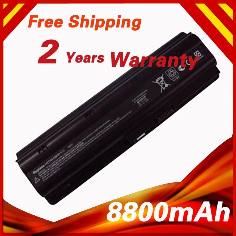 8800mAh Laptop Battery for HP MU06 MU09 WD548AA for Compaq Presario CQ32 CQ42 CQ43 CQ56 CQ62 DM4 DV3 DV5 DV6 DV7 HSTNN-LB0W