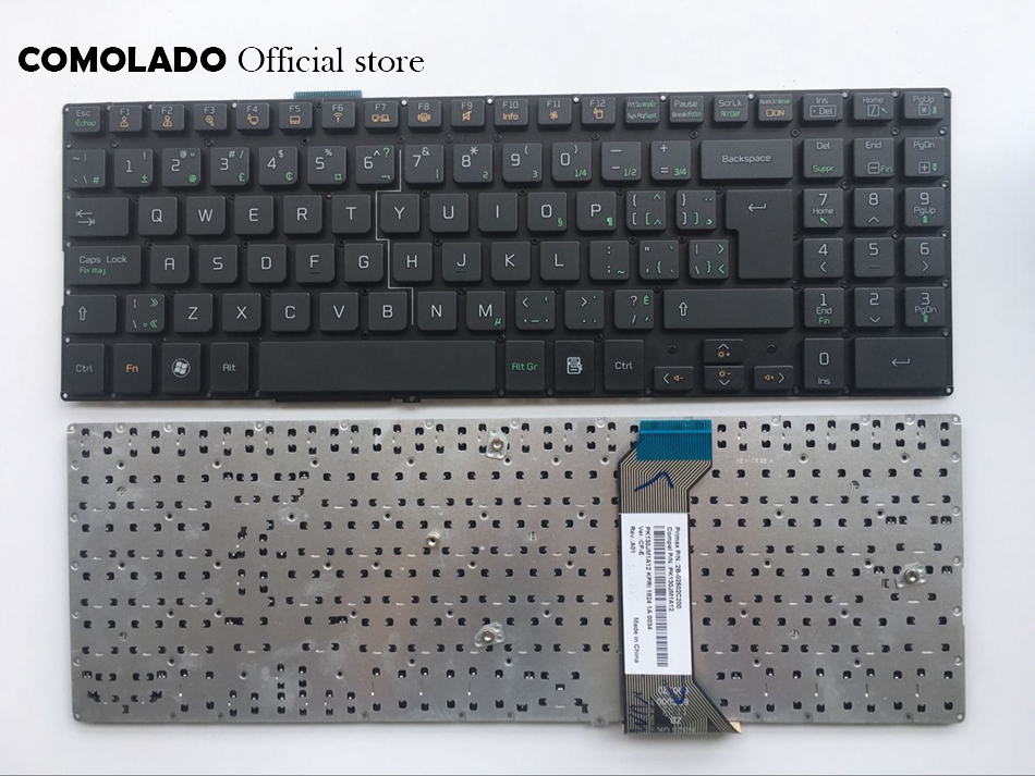 CF Canada-French keyboard for LG A530 A530-D A530-T A530-U P530 without frame black laptop keyboard CF layout