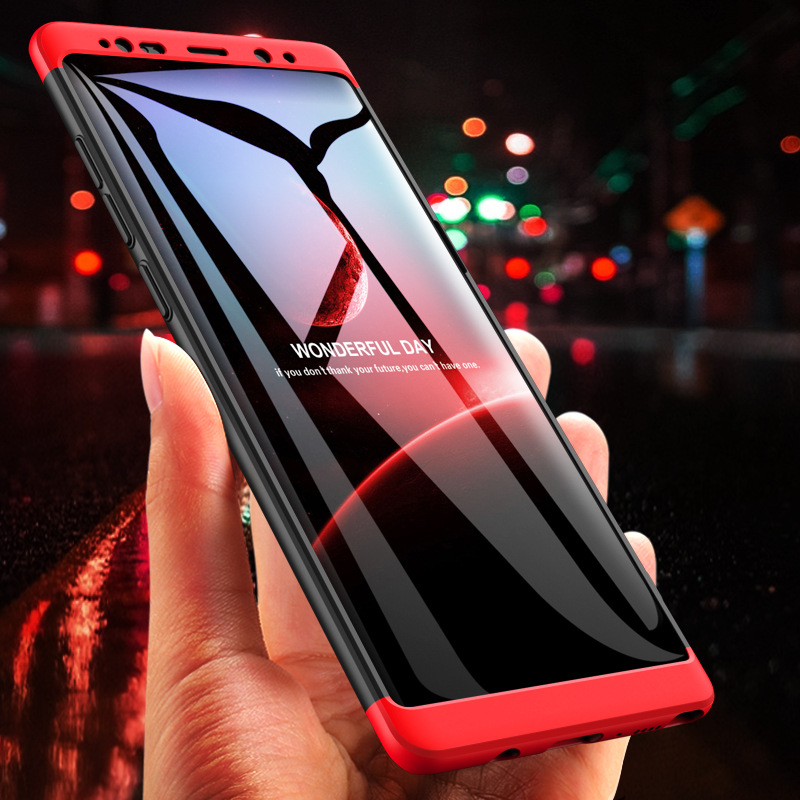 Luxury 360 Full Protection PC smartphone case For Samsung Galaxy S6 S7 Edge S8 S9 Plus Note 8 Case J5 J7 2017 A8 Plus 2018 smartphone