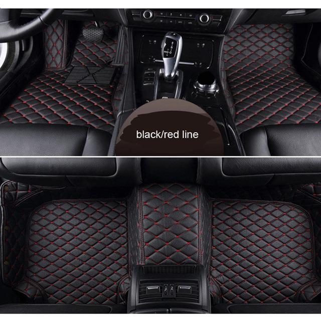 Car Mat Floor Leather For Audi Tt 4 Seat From 2008 2016 Full Set Mats Foot Pls Remark The Year Of In Order