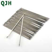 Leathercraft DIY Leather Triangular Needles Leather fur Special Stainless Steel Shaped Pin Stitch Needlework Sewing Supplies(China)