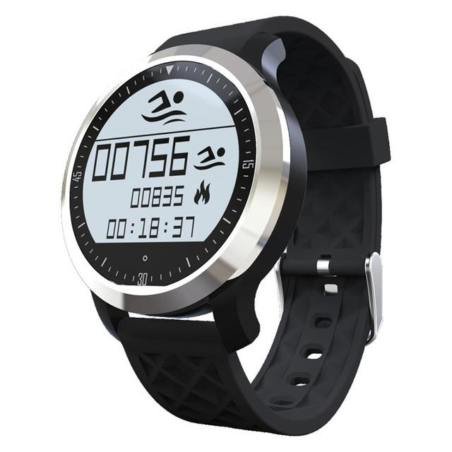 Mais novo F69 Bluetooth inteligente relógio de pulso Smartwatch para Android IOS dispositivo Wearable Monitor de freqüência cardíaca Smartwatch rastreador de Fitness
