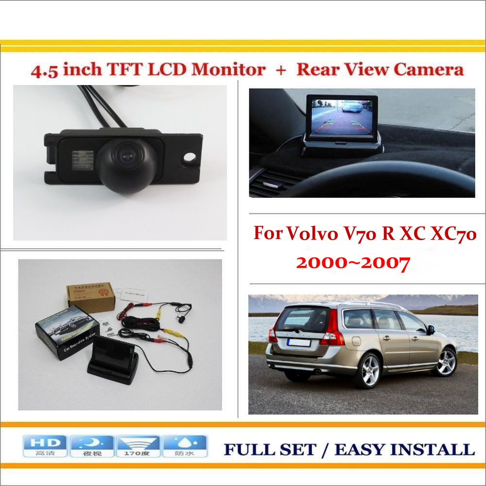 for volvo v70 r xc xc70 2000 2007 auto back up reverse camera2 [ 1000 x 1000 Pixel ]