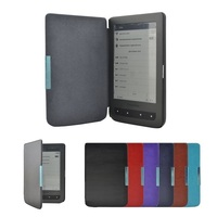 PU Leather EBook Case For Pocketbook Mini Funda Ultra Slim Magnet Flip Cover For Pocket Book