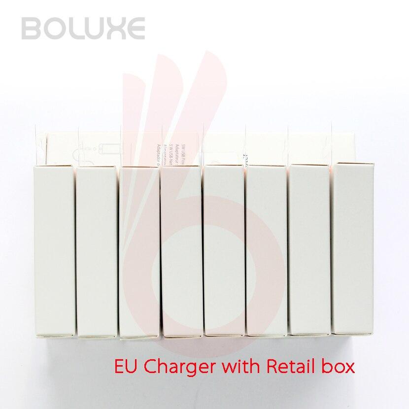 imágenes para Alta Calidad 5 V 1A A1400 UE EE. UU. USB Cargador de Pared Adaptador de Alimentación de CA para el iphone 7 6 6 S 5 5S, con la caja Al Por Menor 10 unids/lote