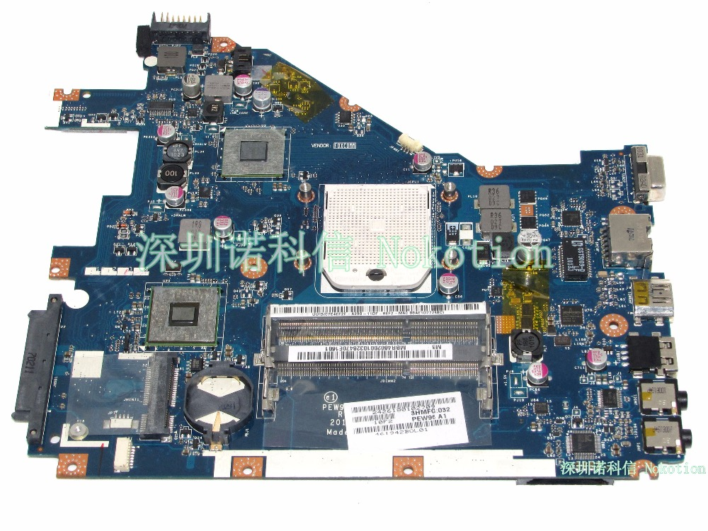 NOKOTION MB.R4602.001 LA-6552P for acer 5552 Laptop motherboard MBR4602001 socket s1 DDR3 Mainboard full Tested mbaxy02005 hbl50 la 2922p laptop motherboard for acer 5630 ddr2 mainboard full tested free shipping