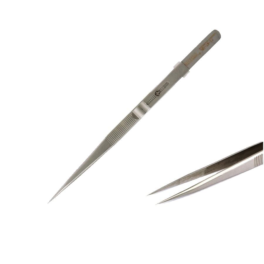 Vysoce kvalitní JM-T9-11 Rovná antistatická pinzeta nastavitelná - Sady nástrojů - Fotografie 1
