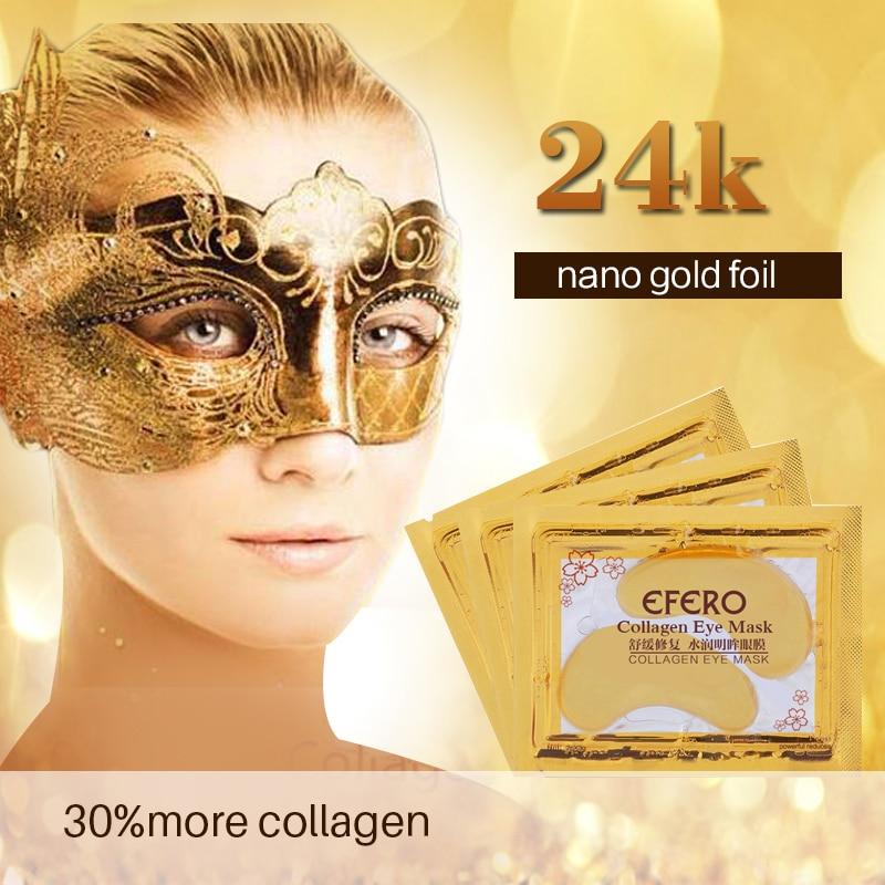 20st = 10pack EFERO Crystal Collagen Eye Mask Eye Patches för - Hudvård - Foto 3