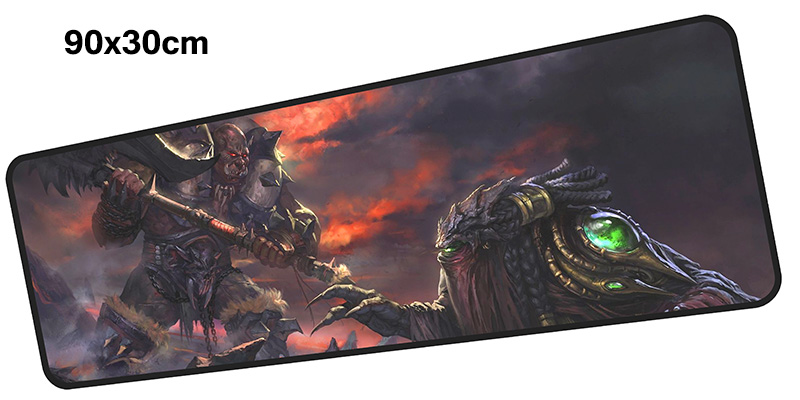 Terran mouse pad gamer 900x300mm notbook mouse mat large gaming mousepad HD pattern pad mouse PC desk padmouse accessories