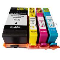 Cartucho de tinta compatível para HP 903 907 903XL 907XL HP903XL HP907XL OfficeJet 6950 6960 6961 6963 6964 6965 6970 6975 Printer