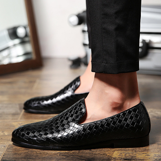Mens' Casual Weave Loafers