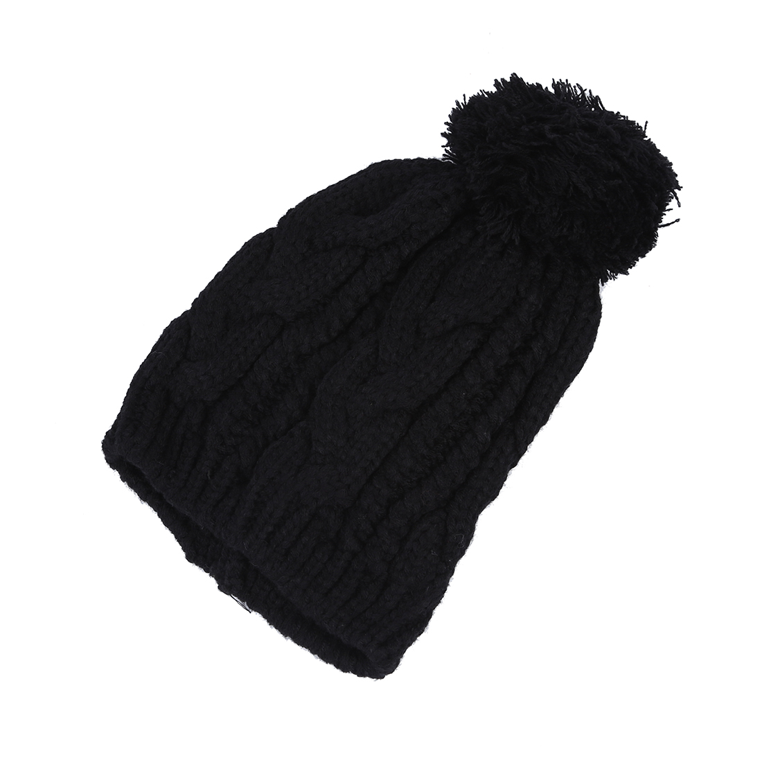 34d7231e74c NEW Warm Winter Unisex Men Women Knit Bobble Beanie Baggy Hat 3color-in  Skullies   Beanies from Men s Clothing   Accessories on Aliexpress.com